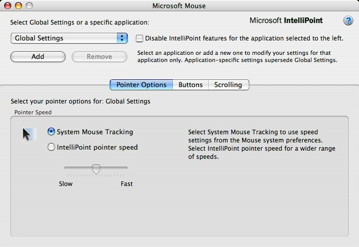 Microsoft Mouse (former IntelliPoint) Free Download | MacsLift