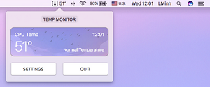 temp monitor for mac